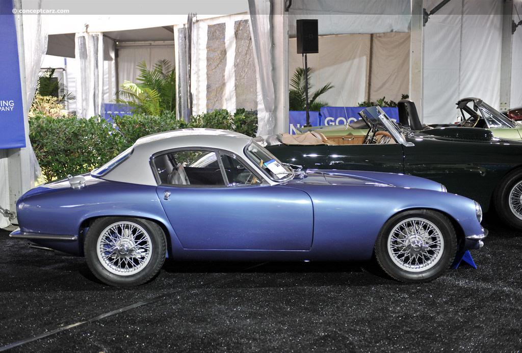 1962 Lotus Elite Image Chassis Number Eb 1695