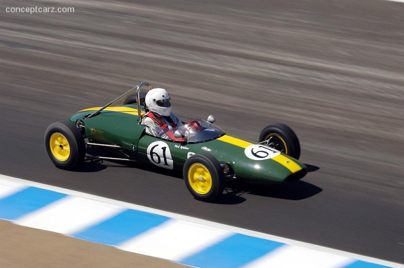 1962 lotus type 22 at the monterey historic automobile races. Black Bedroom Furniture Sets. Home Design Ideas