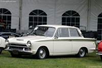 1965 Lotus Cortina.  Chassis number BA74EK59800