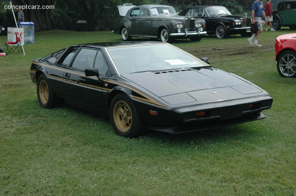 Auction Results And Data For 1979 Lotus Esprit S2