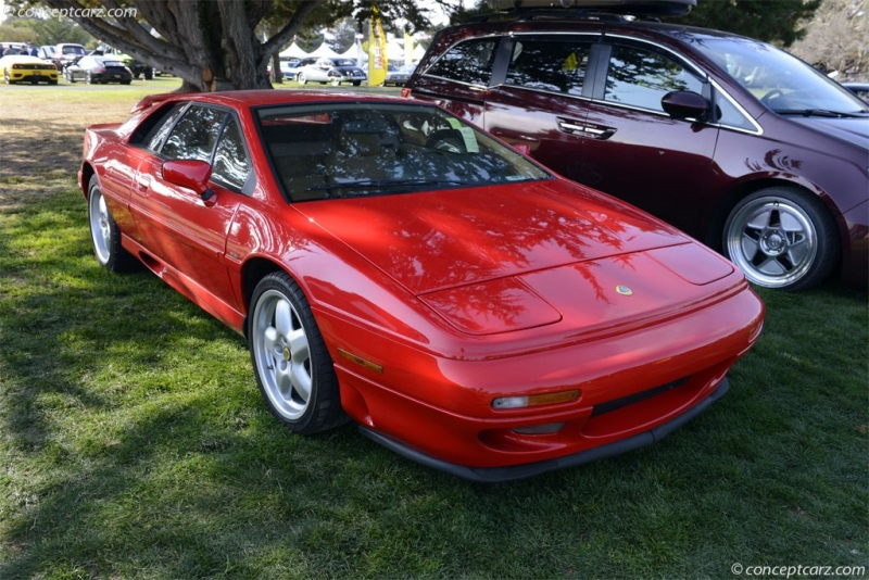 1994 Lotus Esprit Turbo Image Chassis Number Sccfd30b4rhf61108
