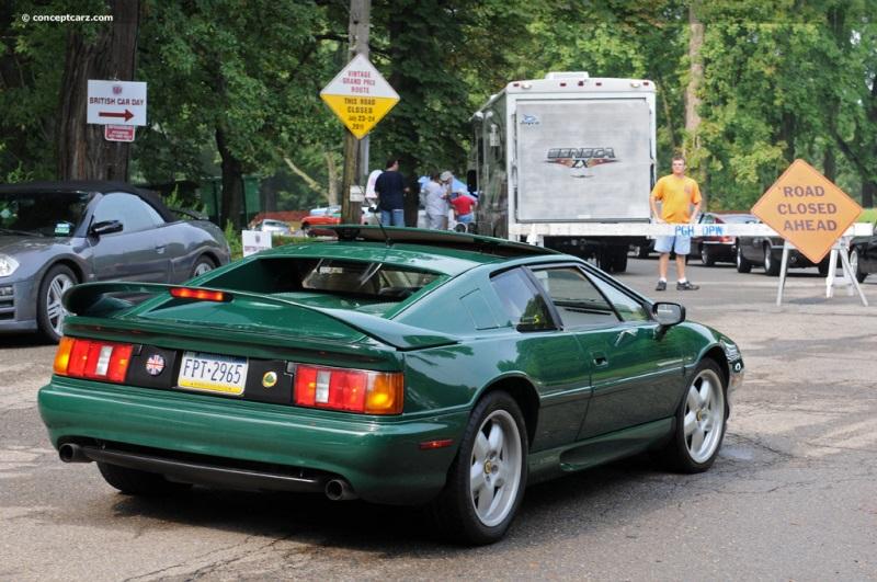 1995 Lotus Esprit History Pictures Value Auction Sales Research