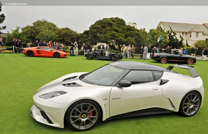 2012 Lotus Evora Gte Road Car Concept Image Photo 2 Of 7