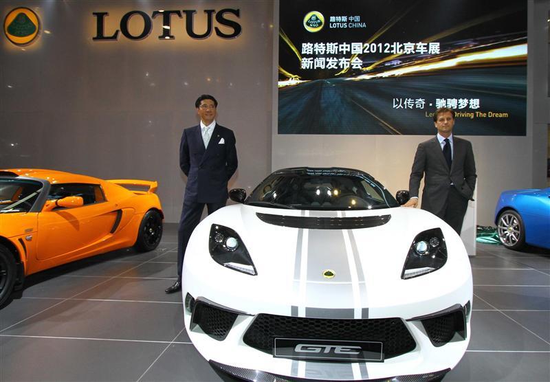 2012 Lotus Evora Gte China Edition Image Photo 2 Of 2