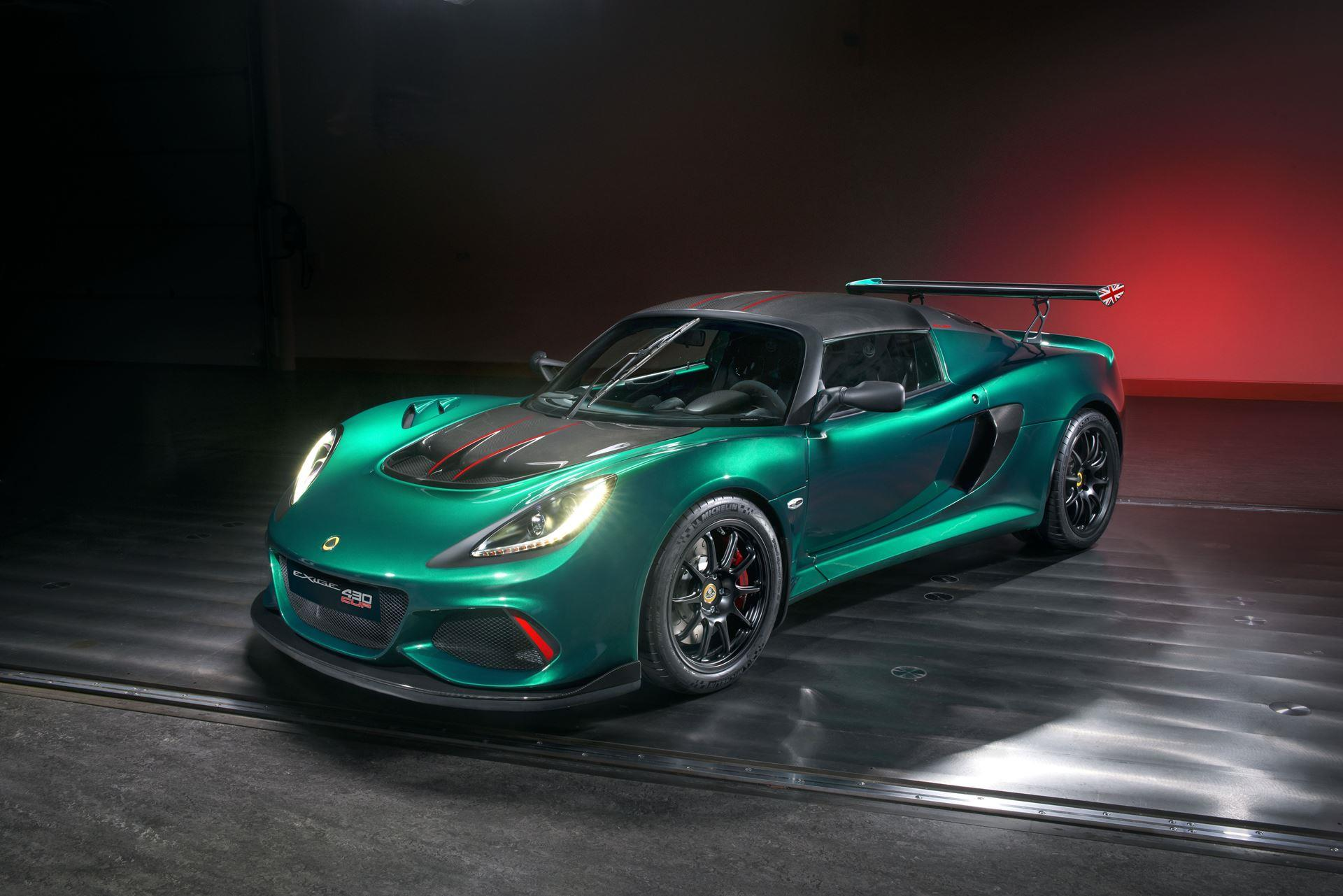 2017 Lotus Exige Cup 430 Unlimited Edition