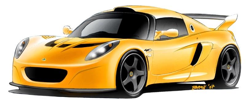 2007 Lotus Exige GT3 Concept thumbnail image