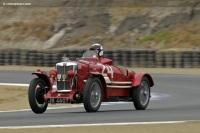 1934 MG NE.  Chassis number NA 0518