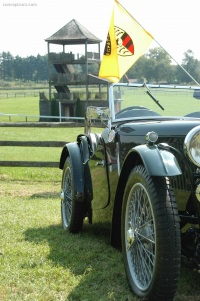 1935 MG PA.  Chassis number PA 1627