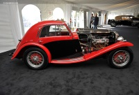 1936 MG NB.  Chassis number NA0848