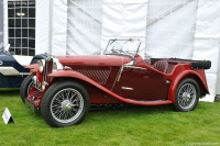 1936 MG NB.  Chassis number NA/0933