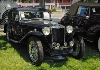 1939 MG TA.  Chassis number TA2850