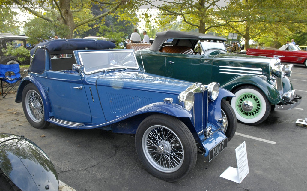 mg tb tickford history pictures  auction sales research  news