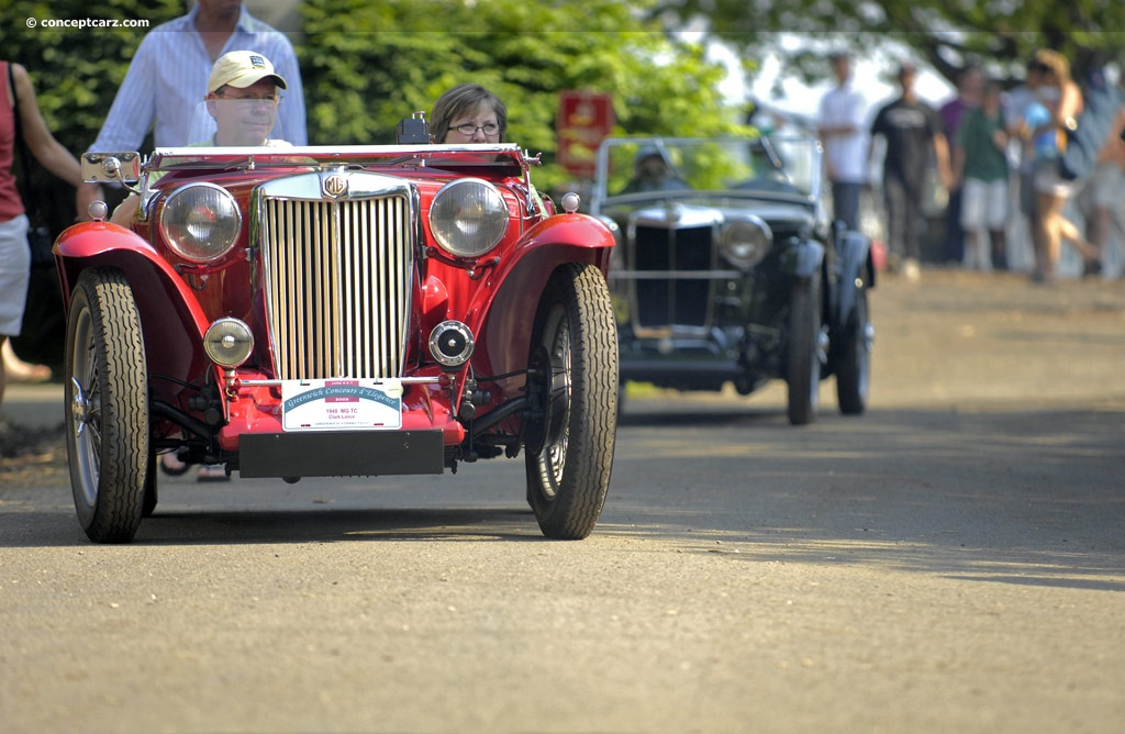 Auction Results and Sales Data for 1948 MG TC