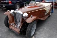 1948 MG TC.  Chassis number TC 5473