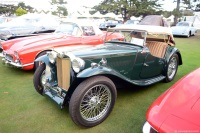 1949 MG TC.  Chassis number XPAG9050