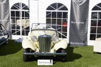 1951 MG TD.  Chassis number 9640 EXL/NA