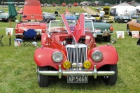 1954 MG TF.  Chassis number HDE137 4125