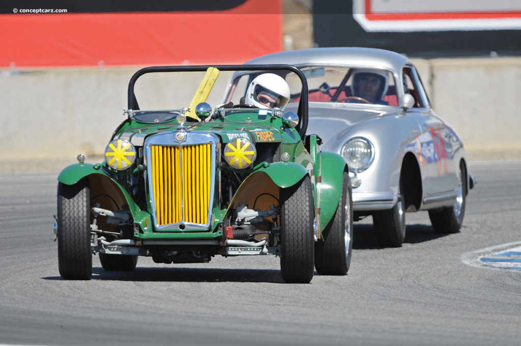 Auction Results and Sales Data for 1951 MG TD