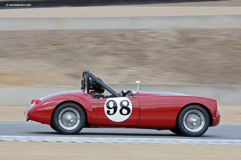 1956 MG MGA 1500 Image. Chassis number HDA431/16810