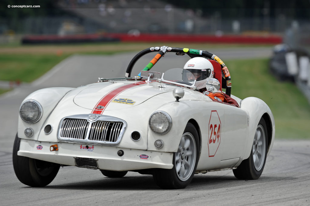 Auction results and sales data for 1957 MG MGA - conceptcarz.com