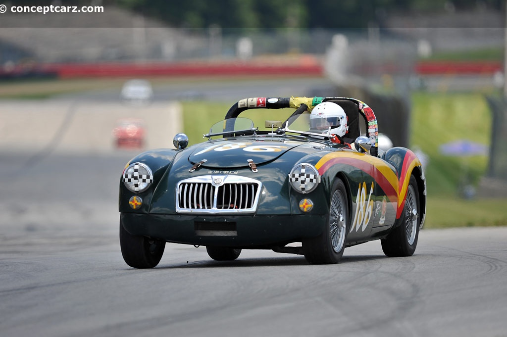 Auction Results and Sales Data for 1959 MG MGA