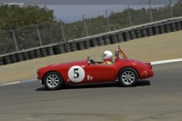 1960 MG A.  Chassis number GHNL 88932