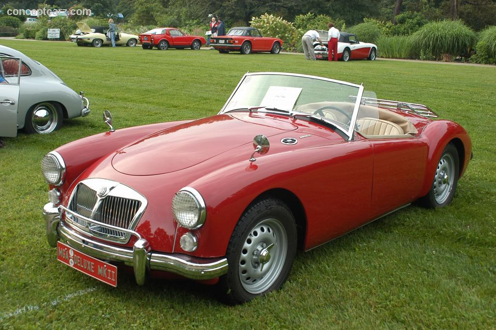 1962 Mg Mga 1600 Image Https Www Conceptcarz Com Images Mg 62 Mg Mkii Deluxe Roadster Cc Km