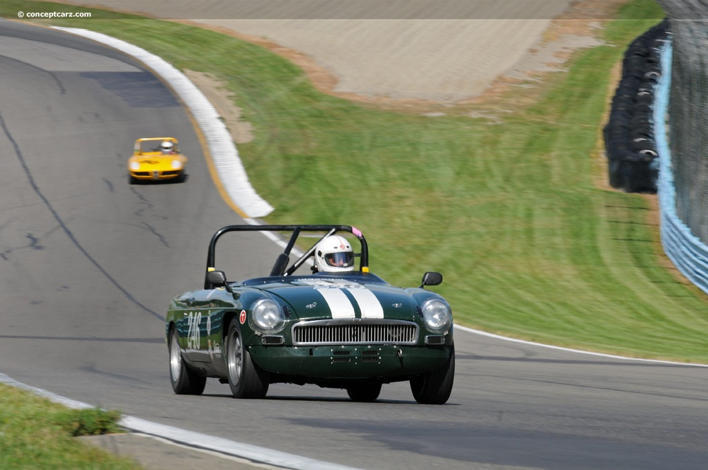 Auction Results and Sales Data for 1968 MG MGB MKII