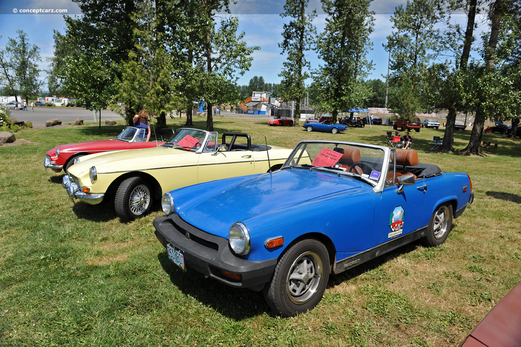 Specifications weight mg midget