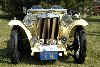 Chassis information for MG TC