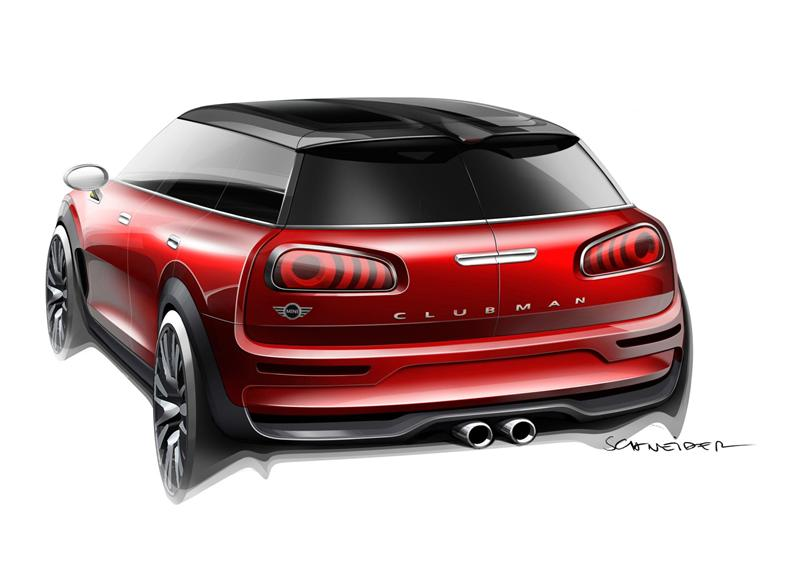 2014 mini clubman concept image. Black Bedroom Furniture Sets. Home Design Ideas