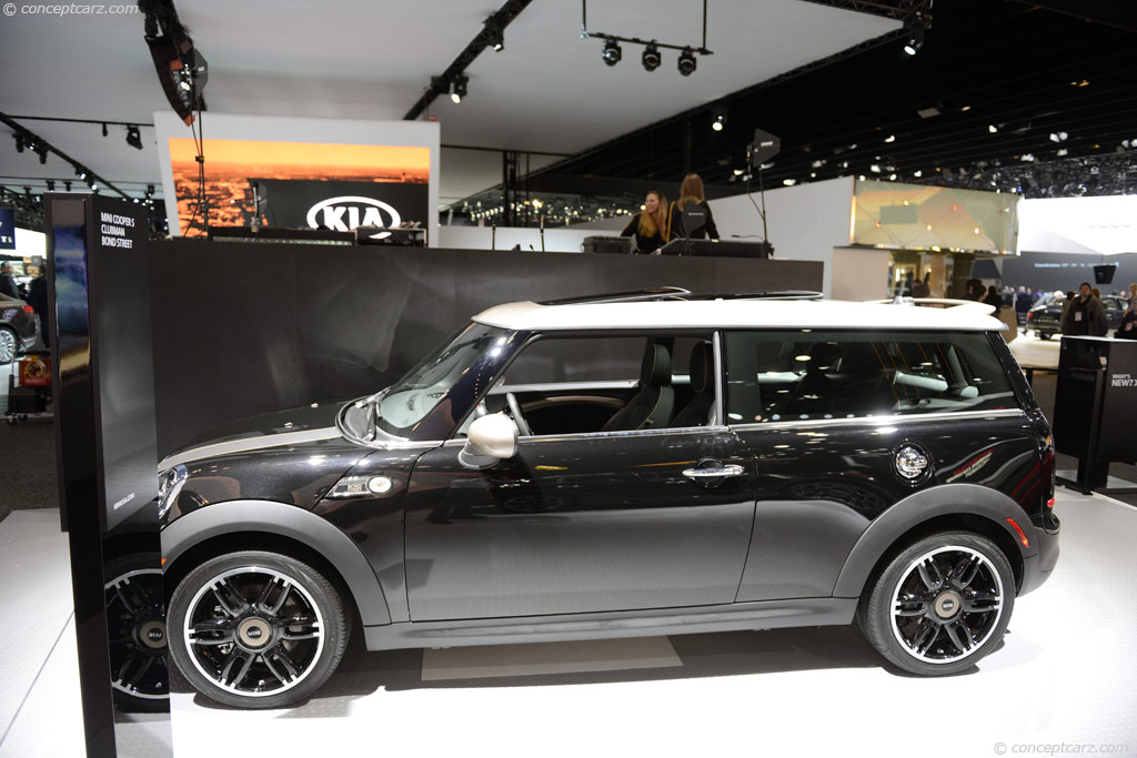 Auction Results And Sales Data For 2013 Mini Clubman Bond Street