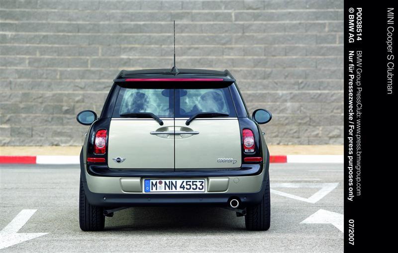 2008 MINI Cooper S Clubman JCW thumbnail image