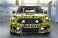 2016 MINI Plug-in Hybrid Prototype image.