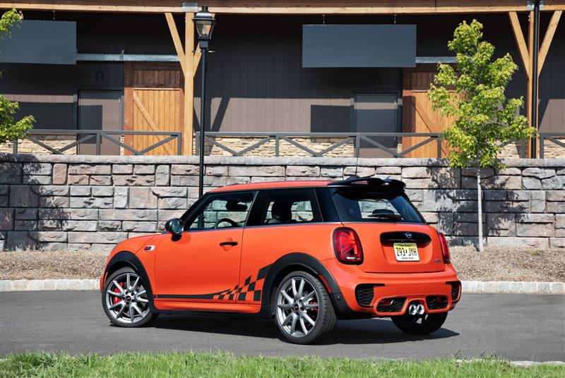 2018 Mini John Cooper Works International Orange Edition News And