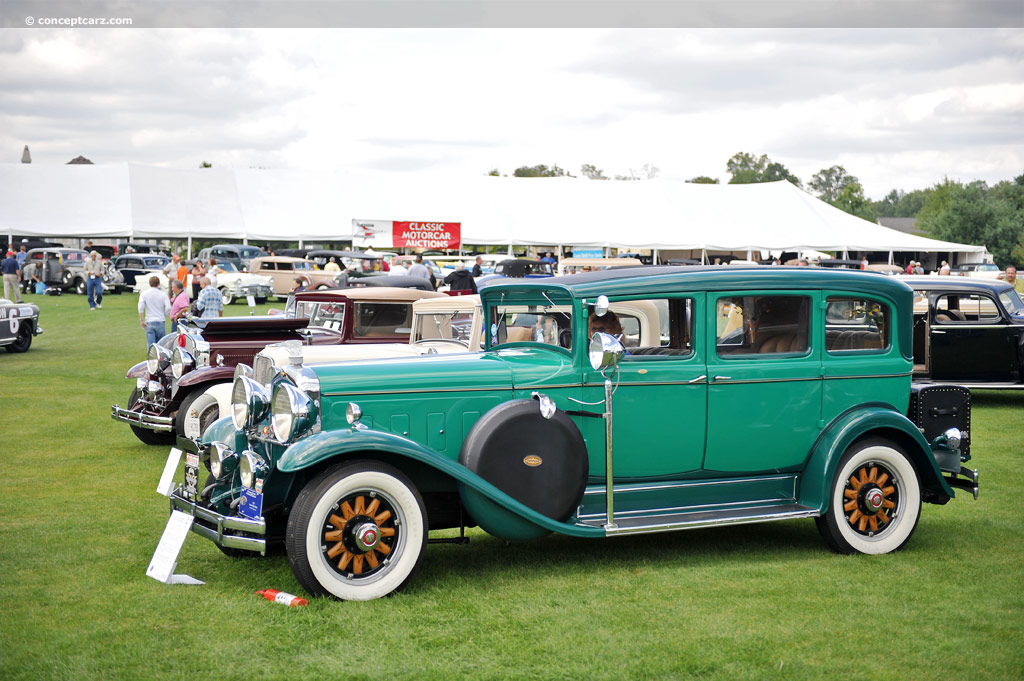 1930 Marmon Big 8 History, Pictures, Value, Auction Sales, Research and News