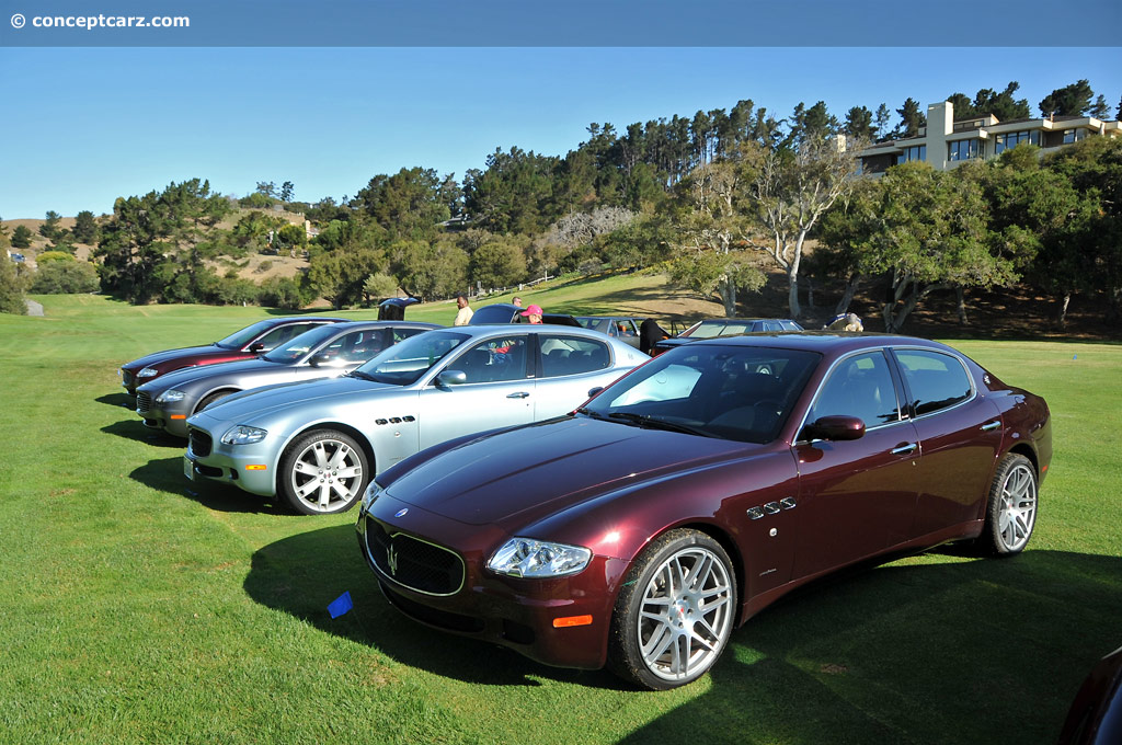 auction results and data for 2007 maserati quattroporte. Black Bedroom Furniture Sets. Home Design Ideas