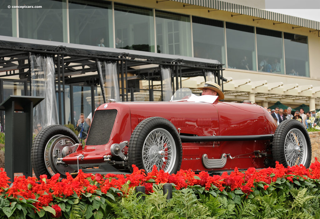 1933 Maserati 8CM Image. Chassis number 3006. Photo 12 of 15