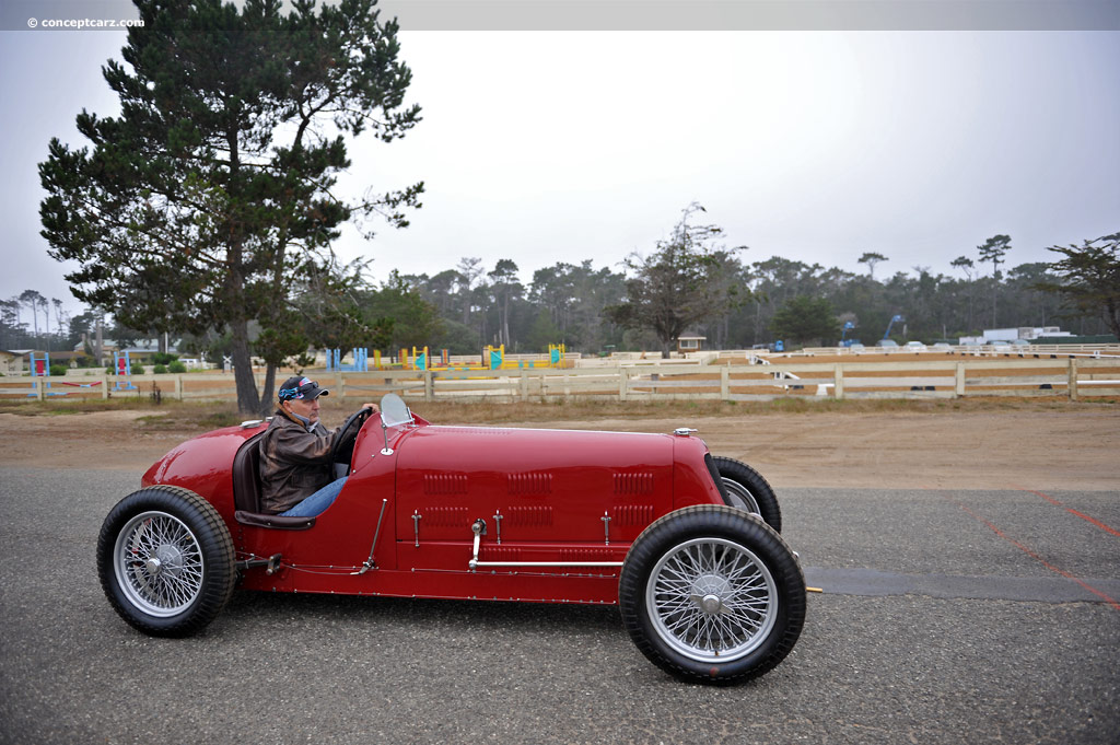 1933 Maserati 8CM Image. Chassis number 3006. Photo 14 of 15