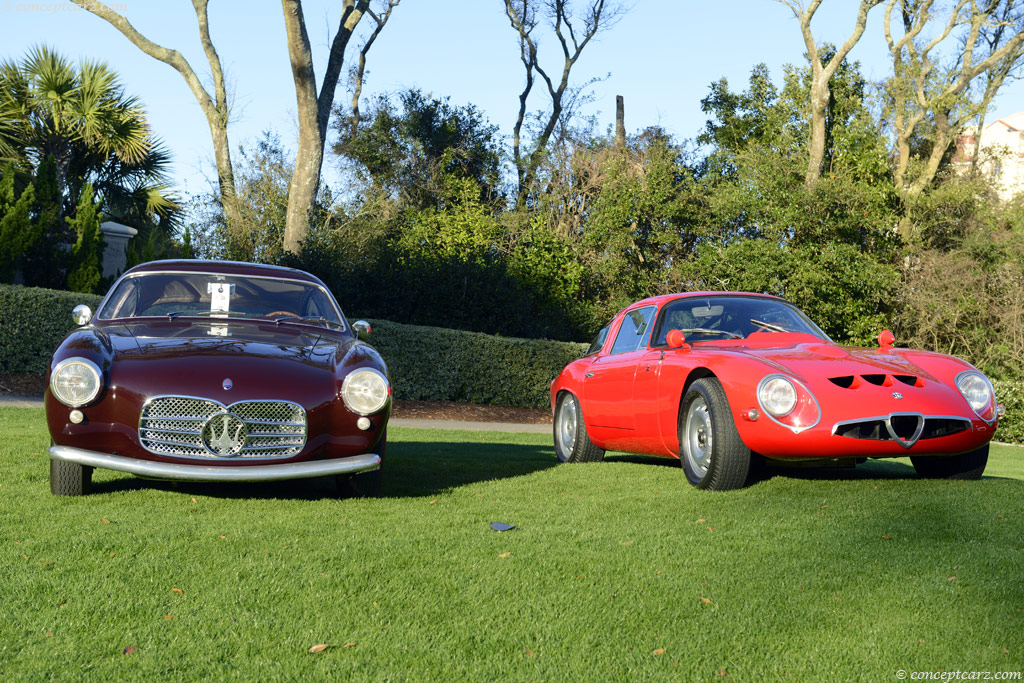 Auction Results and Sales Data for 1955 Maserati A6G/54 2000