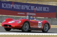 1957 Maserati 200 SI.  Chassis number 2423