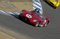 1957 Maserati 450 S.  Chassis number 4510