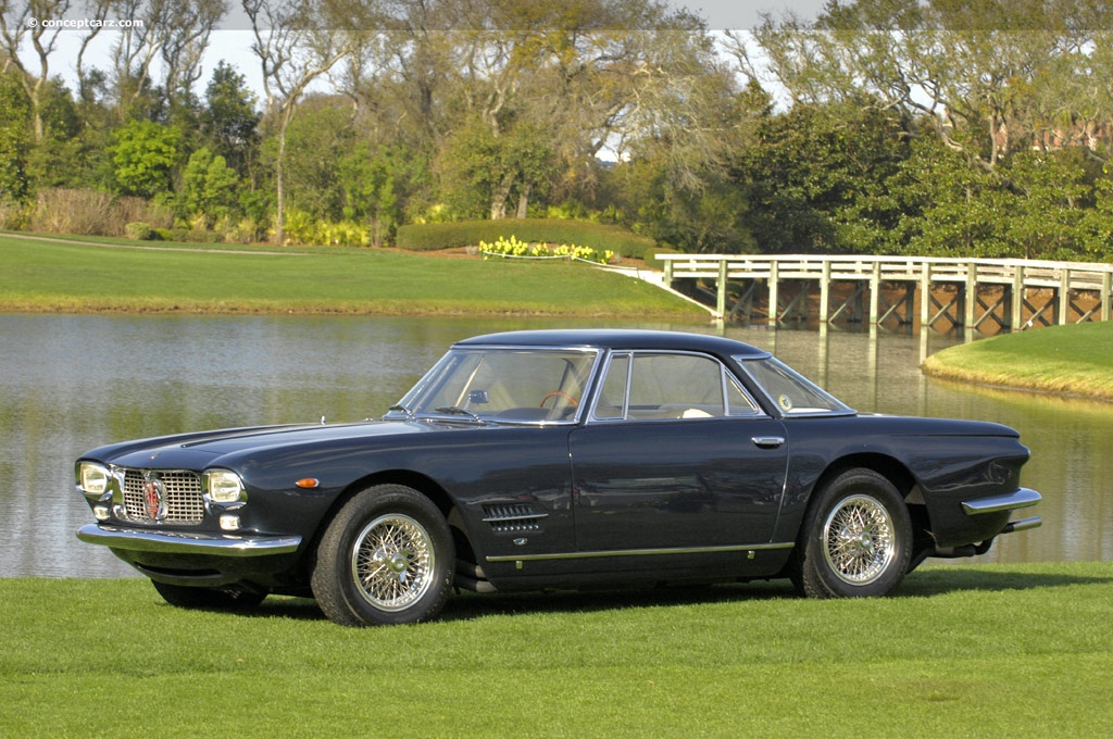 Auction results and data for 1962 Maserati 5000 GT - conceptcarz.com
