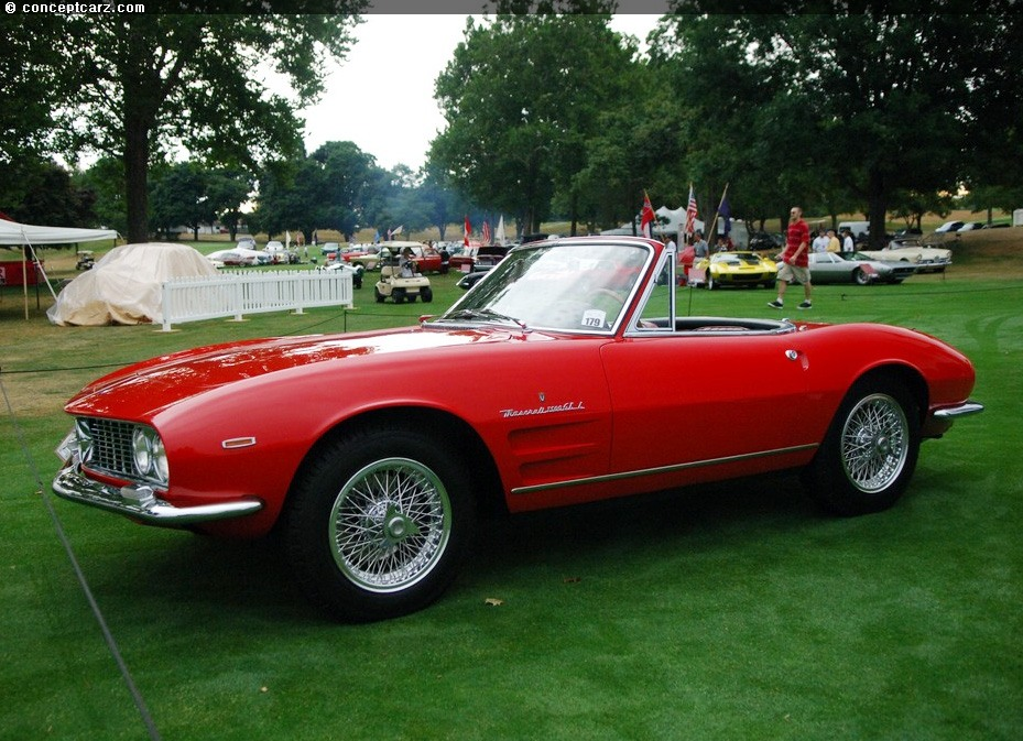 1964 Maserati 3500 GTi Image. Photo 36 of 43