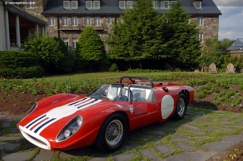 1965 Maserati Tipo 65 Image. Chassis number 002