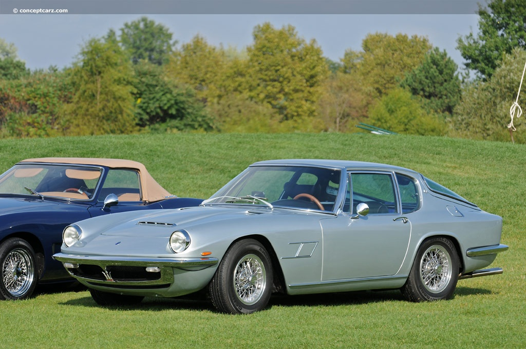 Auction Results and Sales Data for 1967 Maserati Mistral