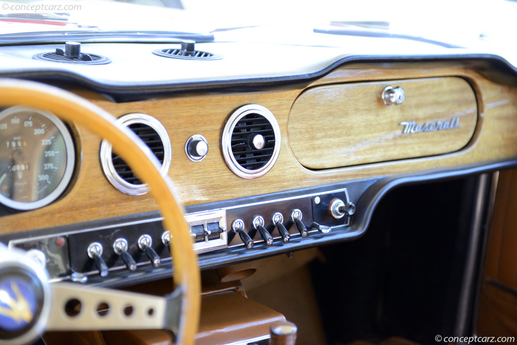 1967 Maserati Mexico.  Chassis number AM.112.106
