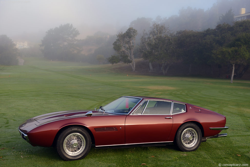 Auction Results And Sales Data For 1968 Maserati Ghibli