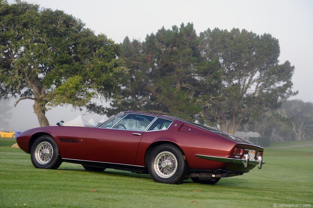 1968 Maserati Ghibli at the 28th Annual Concorso Italiano