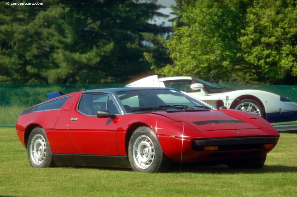 Auction Results And Sales Data For 1975 Maserati Bora